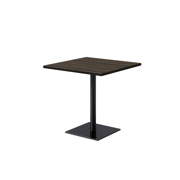 <b> RADA </b><br>Standard Height Wood Table, Square Base - thirdwardfurniture