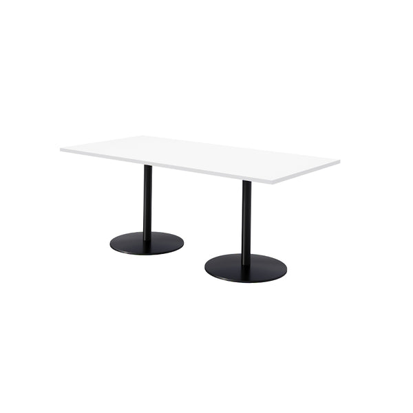 <b> REN </b><br>Standard Height Pedestal Table - thirdwardfurniture