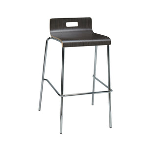 <b> SYCAMORE </b><br>Bar Height, Low Back Stool - thirdwardfurniture