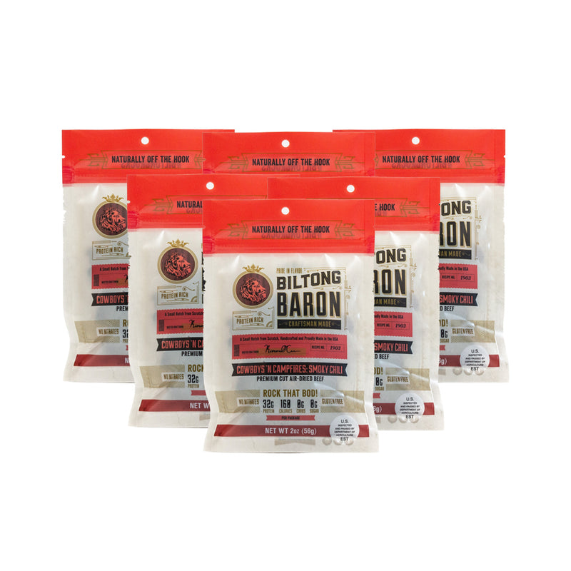 Cowboys 'N Campfires: Smoky Chili (6-Pack Bundle + Free Shipping!)