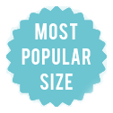 most popular size