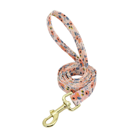 Floral Collar and Leash Set