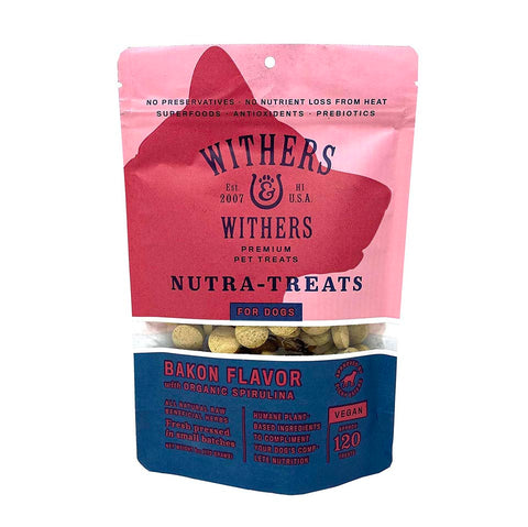 Withers and Wither Bakon Spirulina Treats