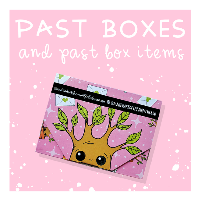 Past Boxes & Items
