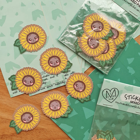 Sticker Pack | Summer Sunflowers