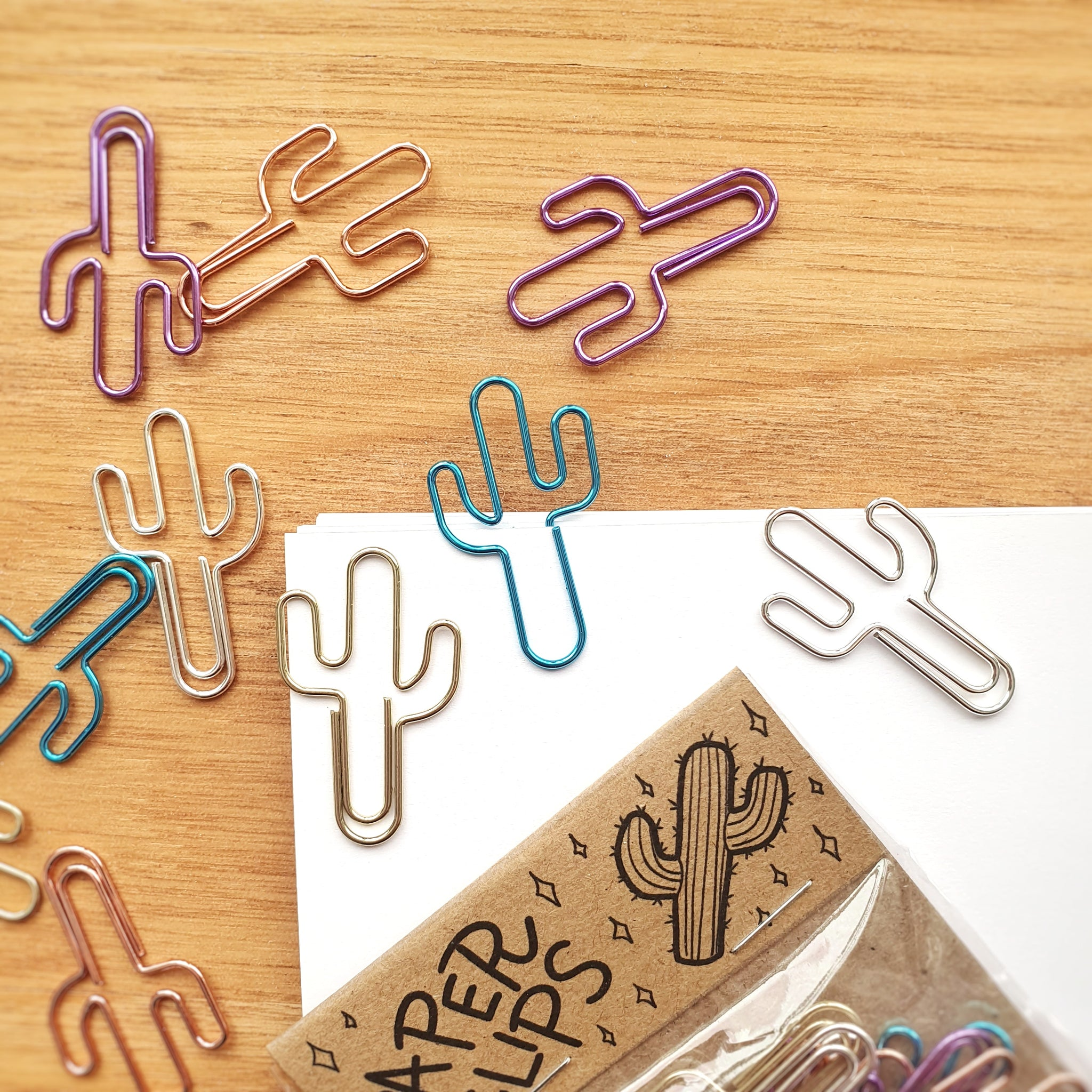 Cacti Paper Clips | 10 Pack