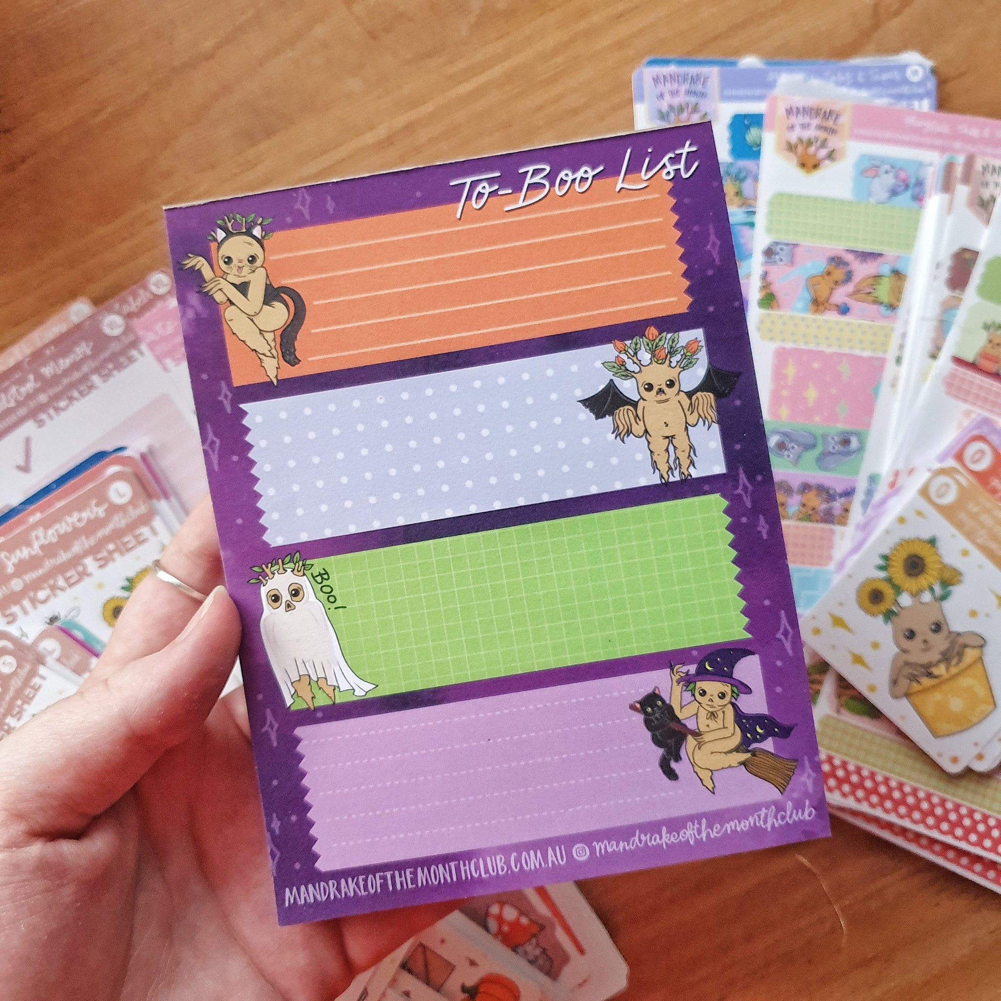 To-Boo List Notepad