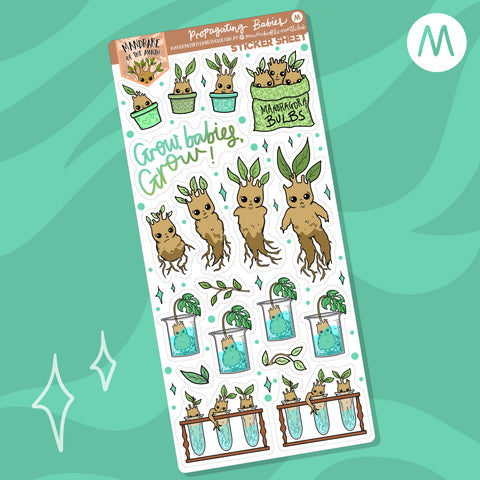 Propagating Babies Planner Stickers