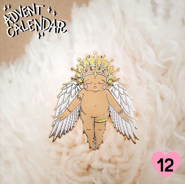 Advent Box Day 12 | Golden Angel Pin