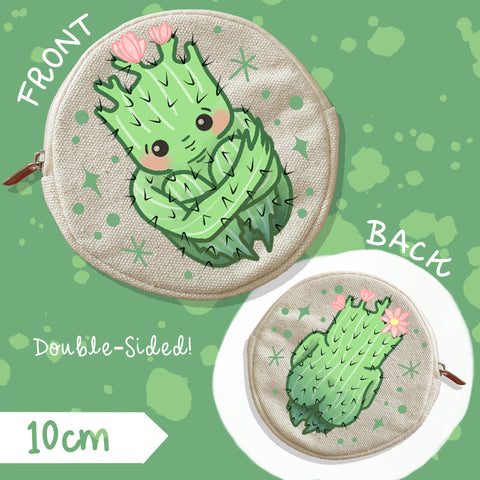 Cactibooty Coin Purse | Double-Sided
