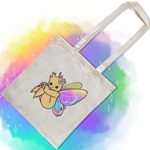 Shy Glass Wing Tote Bag