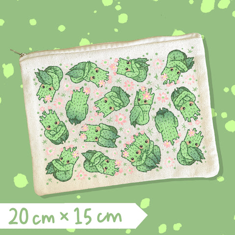 Cactibooties Zipper Pouch