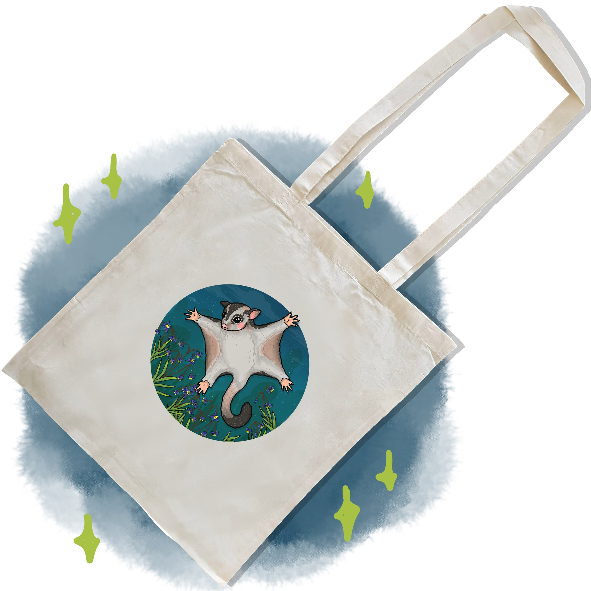 Sugar Glider Tote Bag
