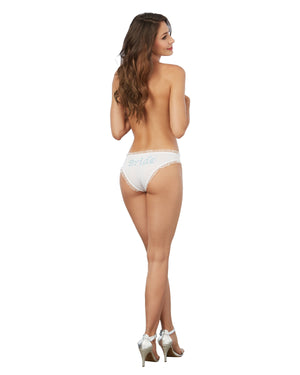 Bride Print Tanga Panty Panty Dreamgirl International