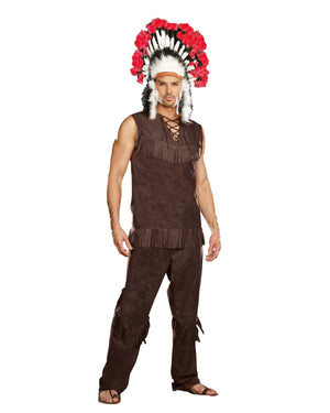 Chief Long Arrow Men's Costume Dreamgirl Costume
