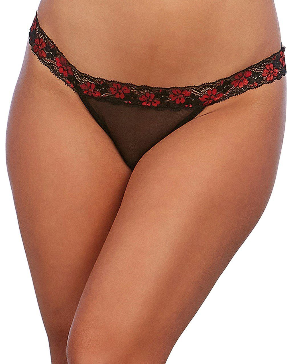 Cross-Dye Lace Strappy Panty Panty Dreamgirl International