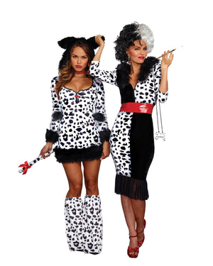 Dalmatian Darling Women's Costume Dreamgirl Costume