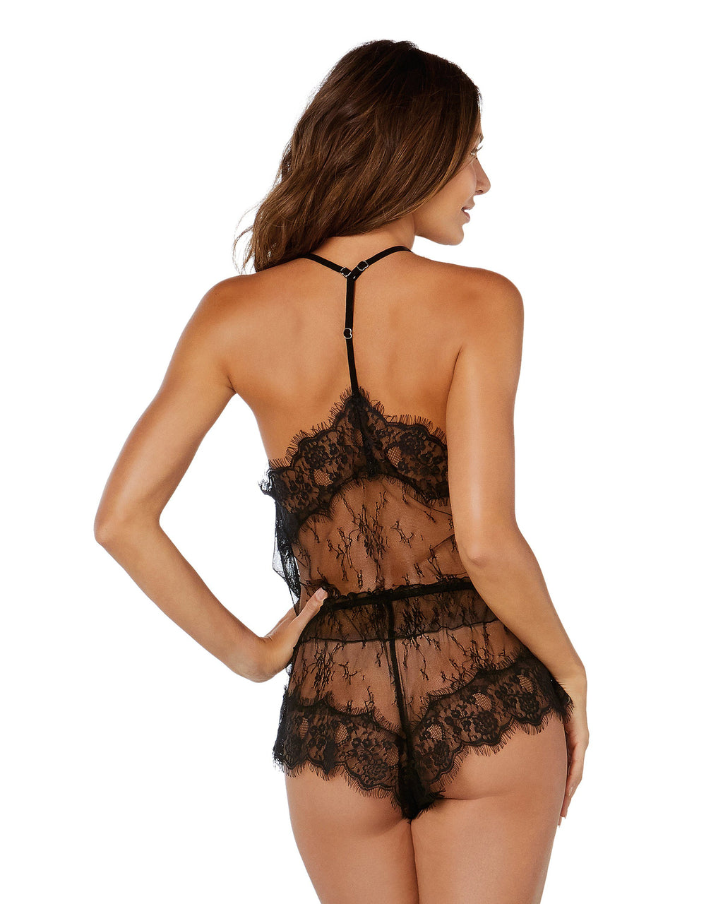 Delicate Floral Lace Camisole & Short Set Camisole Set Dreamgirl International