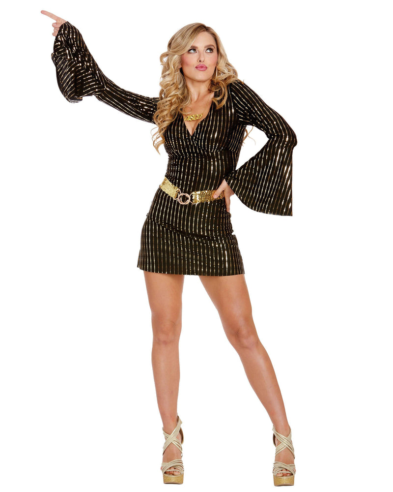 Disco Babe Women's Costume Dreamgirl Costume