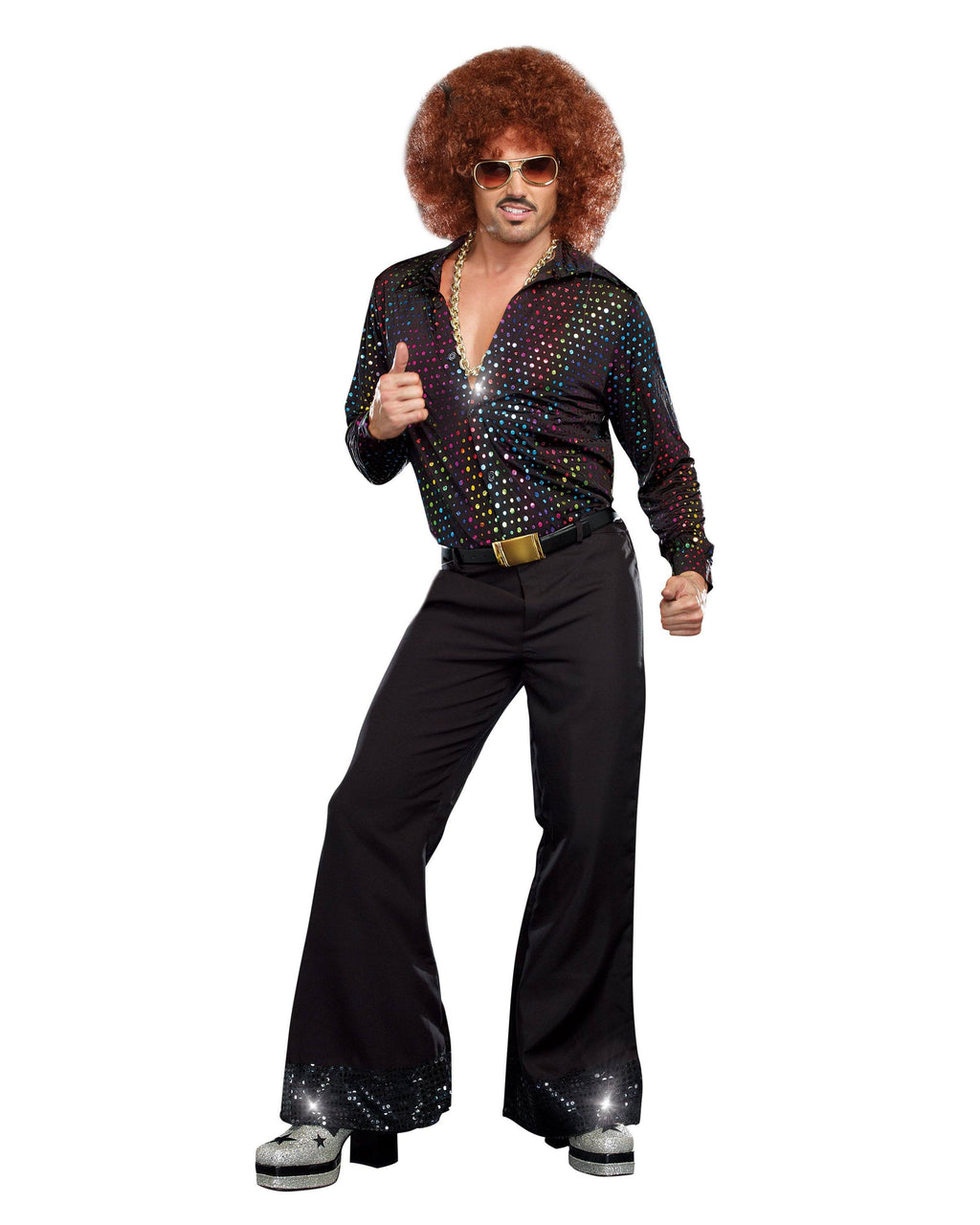 Disco Dude Men's Costume Dreamgirl Costume