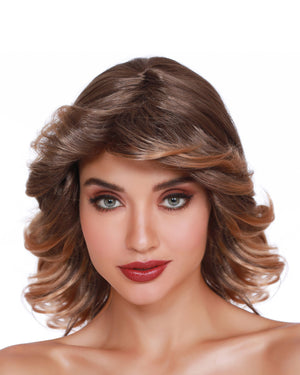 Disco Feather Wig Wig Dreamgirl Costume
