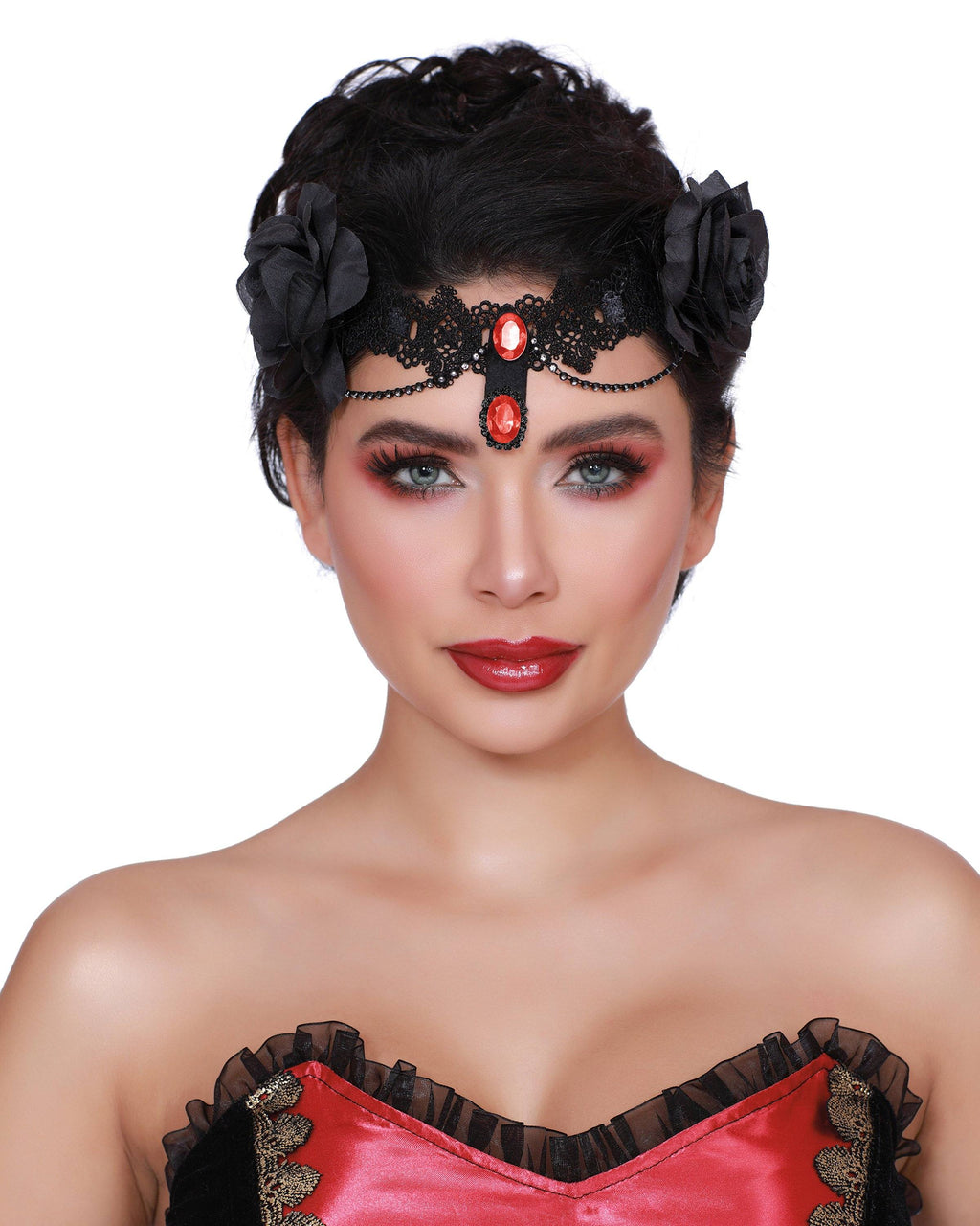 Drop Dead Beautiful Headpiece Headpiece Dreamgirl Costume