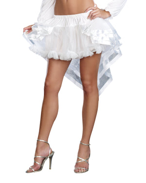 Fairytale Petticoat Costume Accessory Dreamgirl Costume One Size White