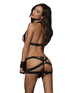 Fetish Open-Cup Open-Back Dress Fetish Dreamgirl International