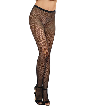 Fishnet Pantyhose with Back Seam Pantyhose Dreamgirl International
