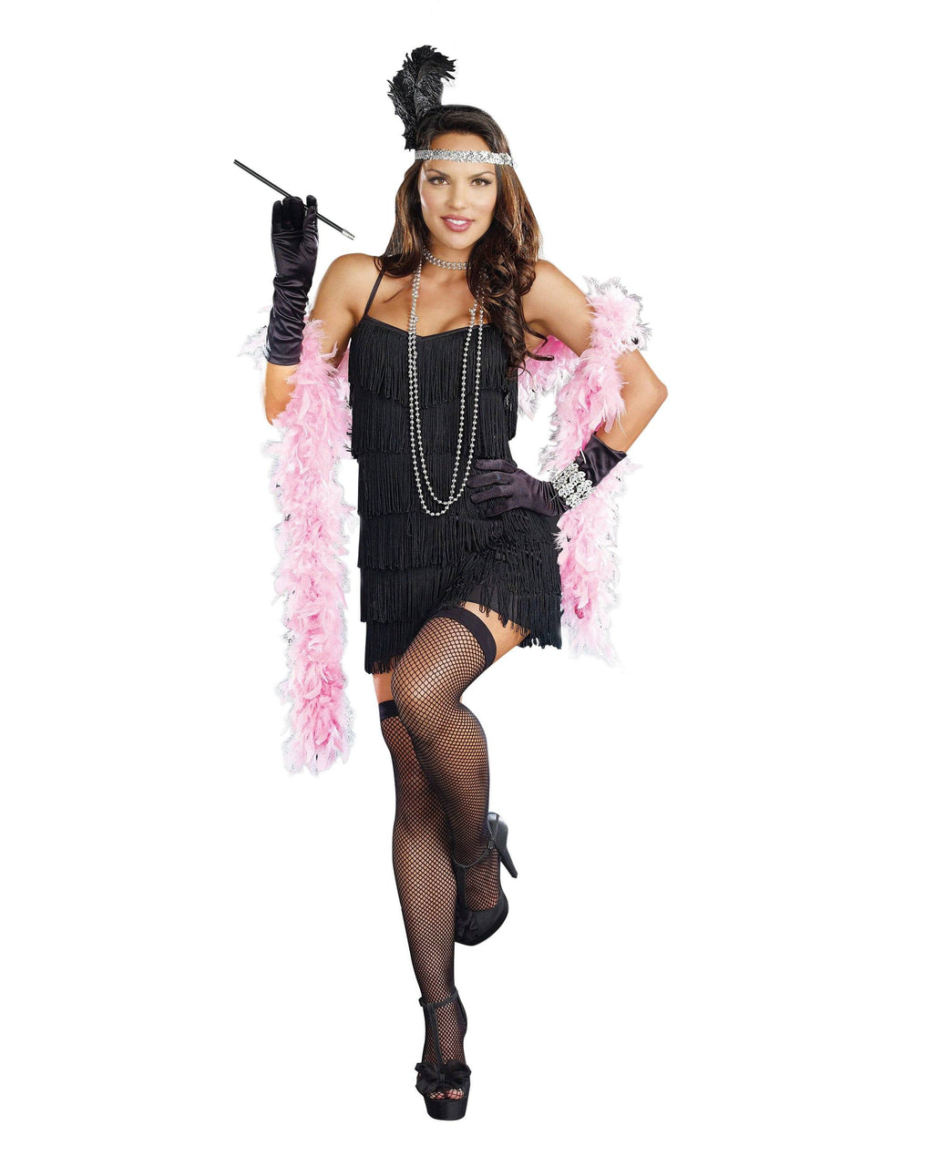 Flapper Starter Dress Costume Accessory Dreamgirl Costume