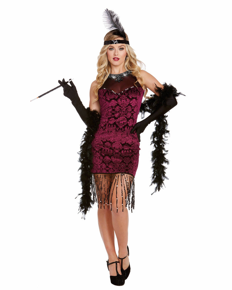 Gatsby Gal Women's Costume Dreamgirl Costume