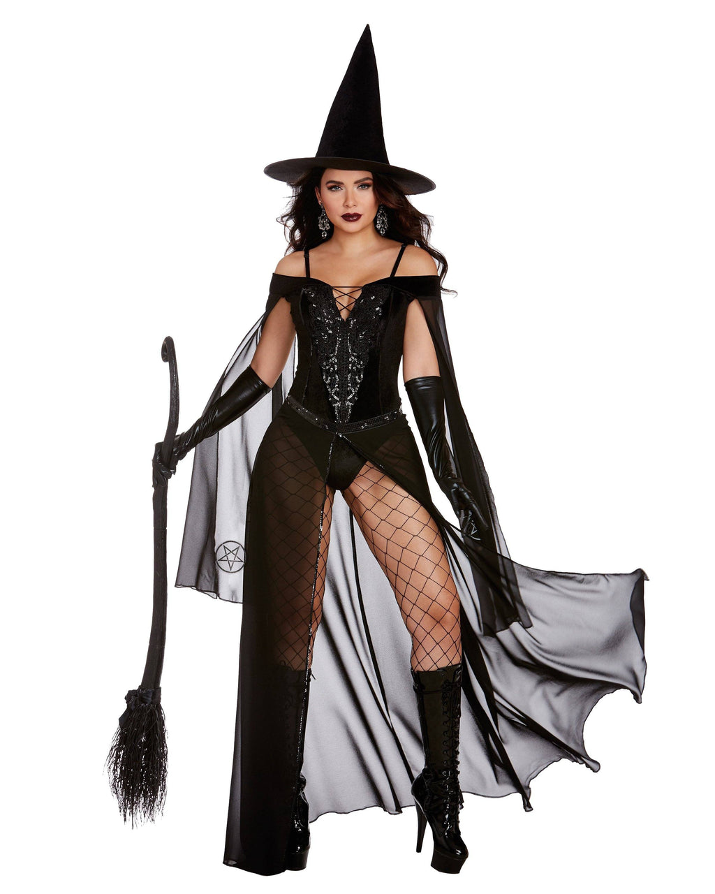 Glam Witch Women's Costume Dreamgirl Costume