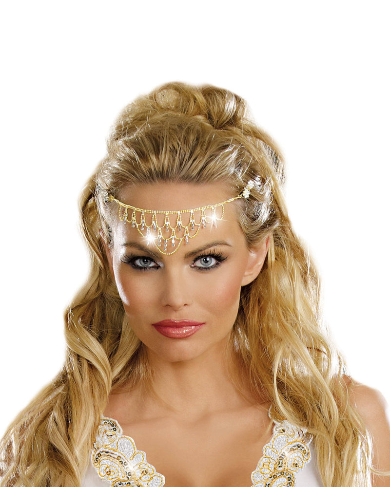 Glittering Rhinestone Headpiece Headpiece Dreamgirl Costume