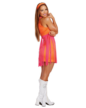 Groovy Baby Women's Costume Dreamgirl Costume