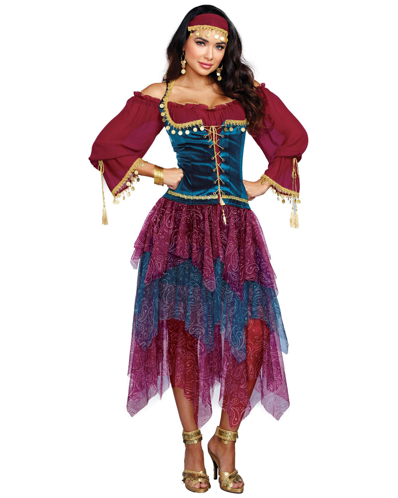 Gypsy Women's Costume Dreamgirl Costume