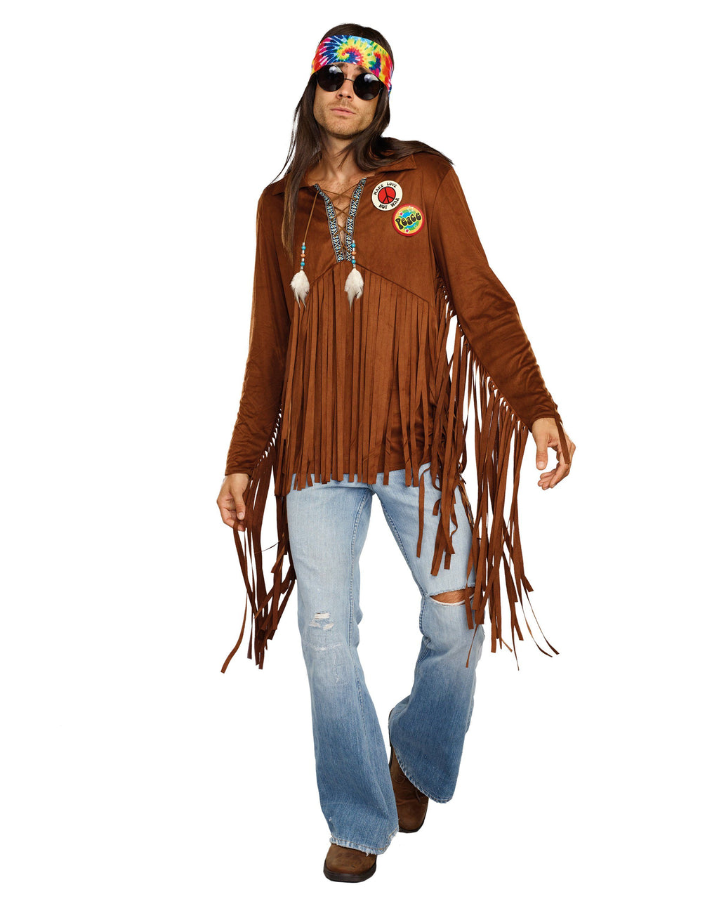 Hippie Dude Men's Costume Dreamgirl Costume