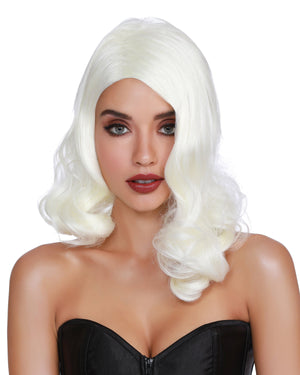 Hollywood Glamour Wig Wig Dreamgirl Costume