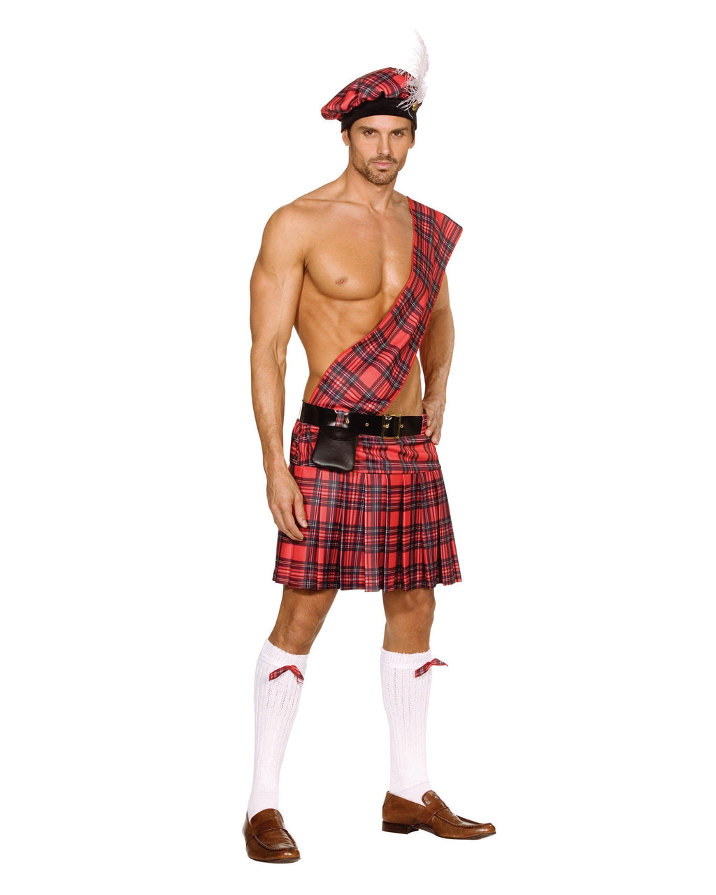 """Hot Scottie"" Scottish Kilt Men's Costume Dreamgirl Costume"