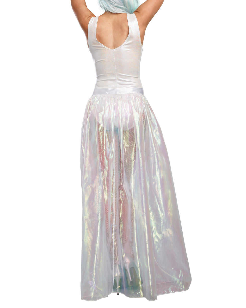 Iridescent Sparkly Maxi Skirt Costume Accessory Dreamgirl Costume