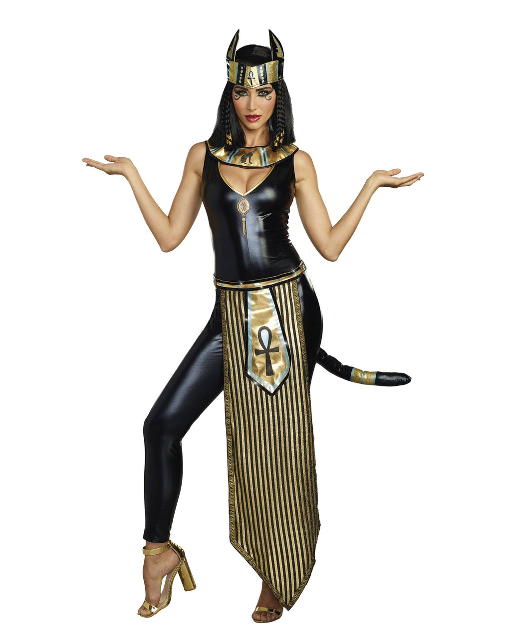 Kitty of De Nile Women's Costume Dreamgirl Costume