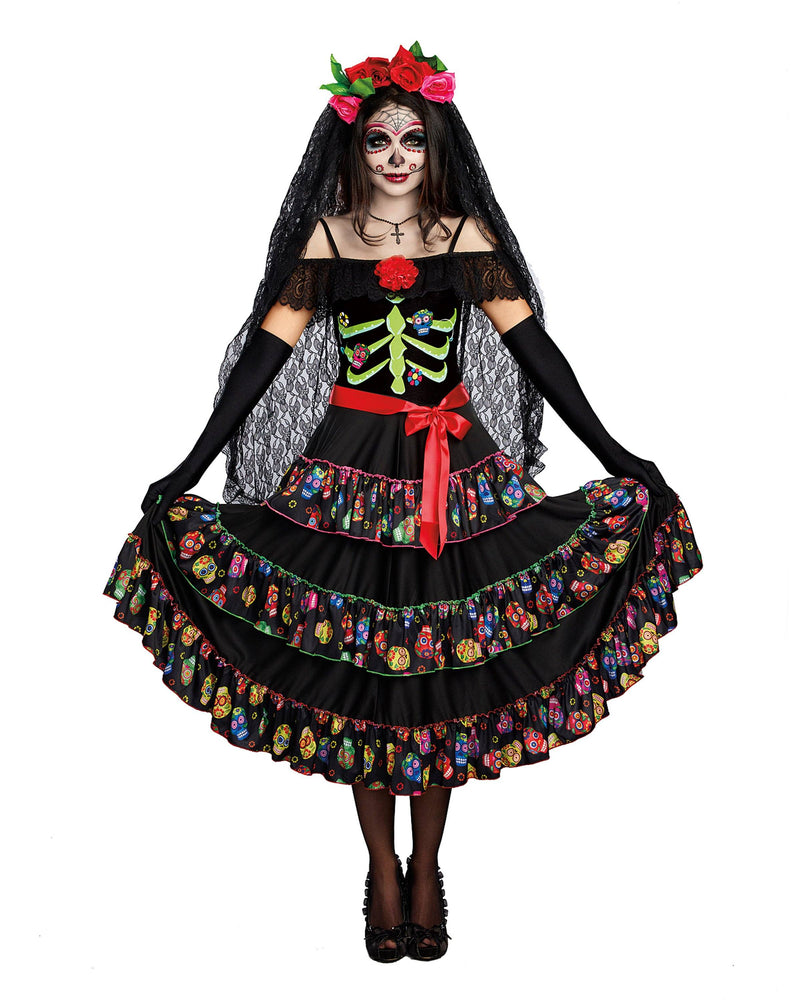 Lady of the Dead Women's Costume Dreamgirl Costume