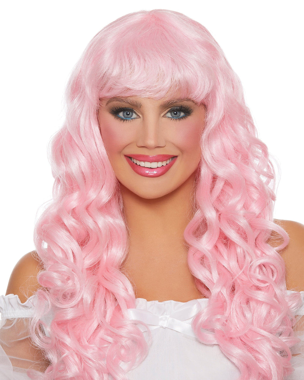 Long Curly Wig Wig Dreamgirl Costume