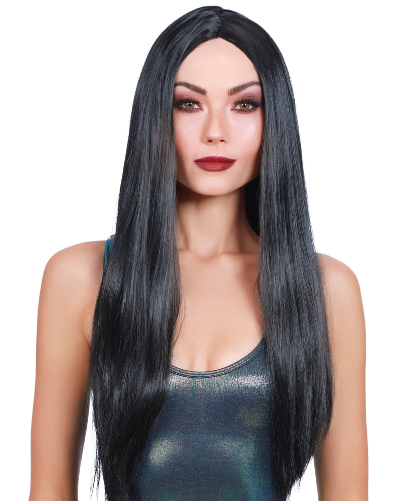Long Straight Black Wig Wig Dreamgirl Costume