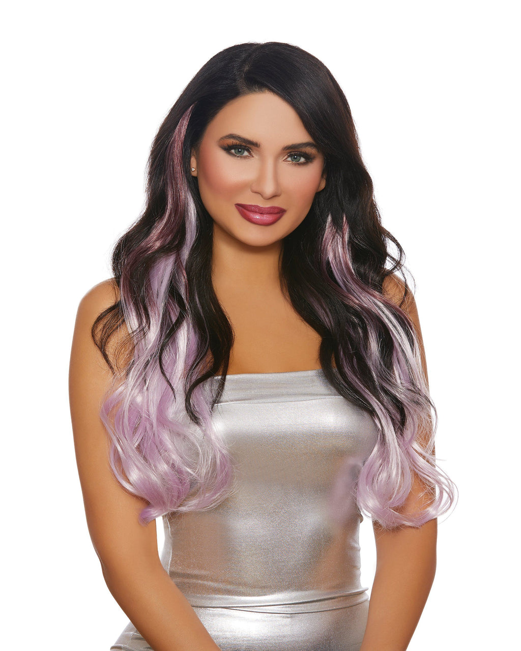 Long Wavy Layered Three-Piece Hair Extensions Hair Extensions Dreamgirl Costume