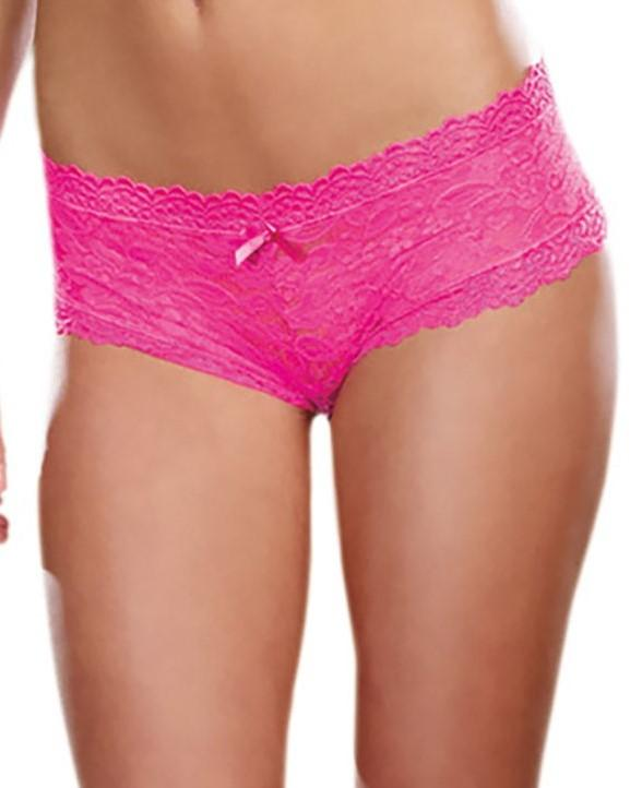 Low-Rise Cheeky Hipster Panty Panty Dreamgirl International S Hot Pink