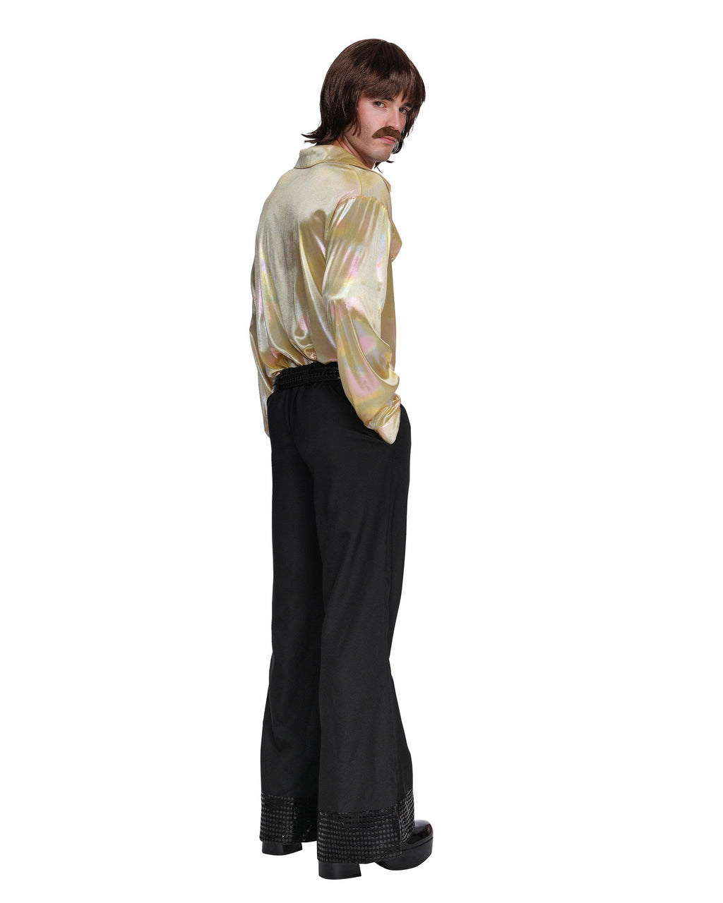 Men's 70's Icon Men's Costume Dreamgirl Costume