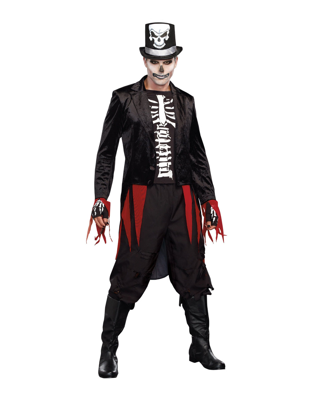 Mr. Bones Men's Costume Dreamgirl Costume