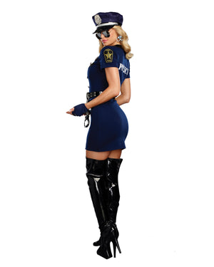 Officer Pat U. Down Women's Costume Dreamgirl Costume
