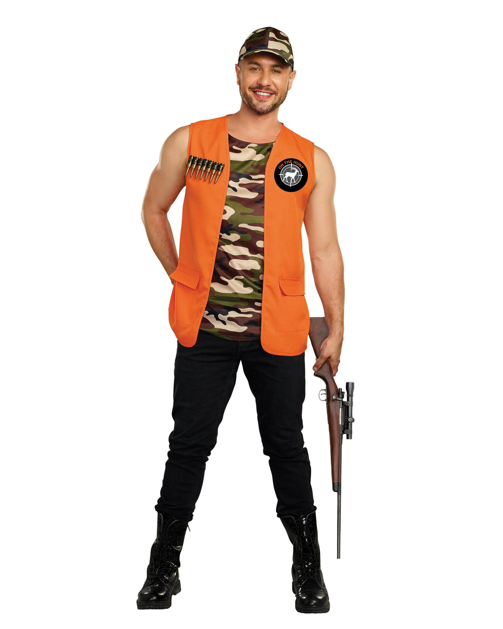 On the Hunt Men's Costume Dreamgirl Costume