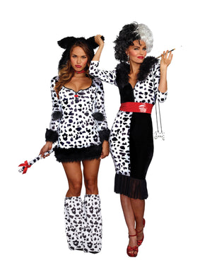 Plus Size Dalmatian Diva Women's Costume Dreamgirl Costume